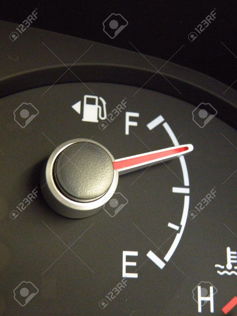 gas gauge full
